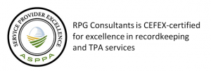 RPG Consultants CEFEX-Certified for Recordkeeping and TPA